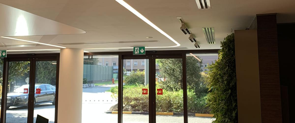 Restyling palazzine Direzione Generale Aeroporto Linate
